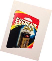 12 Pack Eveready Gold A522BP 9V Alkaline Battery, 1 Per