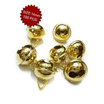 Aspire Gold Bells with Triangle Loop, Decorative Accessories