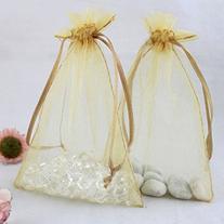 Rbenxia Drawstring Organza Pouches Wedding Favor Gift Candy