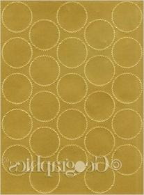 Geographics Certificate Gold Foil Seals, 1 3/4 Inches dia.,
