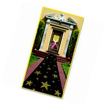 """Gold Star Runner with Double Stick Tape 24"""" x 10"""