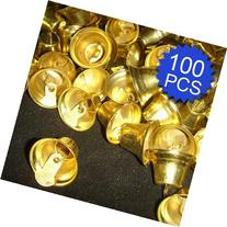 Aspire 26mm 1.02inches Gold Tone Bells, DIY Party Favors
