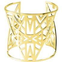 Vélizance Golden Aztec Sterling Silver Lunea Arm Cuff