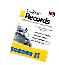 Golden Records Software for Converting Cassette Tapes and