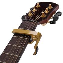 URBEST® Golden Single-handed Guitar Trigger Capo Quick