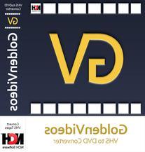 Golden Videos VHS to DVD Converter Software - Convert VHS to
