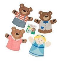 Manhattan Toy Company Goldilocks and The 3 Bears Box Finger
