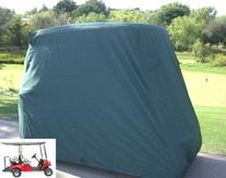 "Golf Cart Cover 4 Seater roof up to 80""L Green, fits EZGO,"