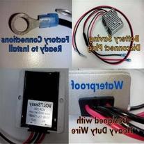 Golf Cart Voltage Reducer No Heat Design VOLTSeasy 12-volt/