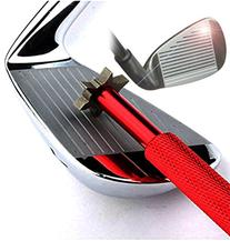 Golf Club Groove Sharpener with 6 Heads - Ideal for Optimal