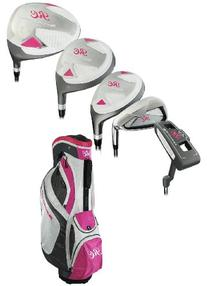 Ray Cook Golf Women's Silver +1 Complete Set With Bag, Right