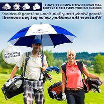 Procella Golf Umbrella 62 Inch Large Oversize Windproof