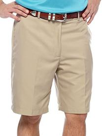 New Greg Norman Golf Flat Front Shorts Bamboo Size 34