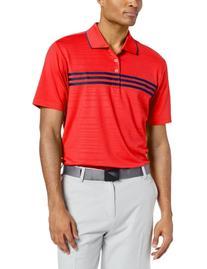 adidas Golf Men's Puremotion Climacool 3-Stripes Chest Polo