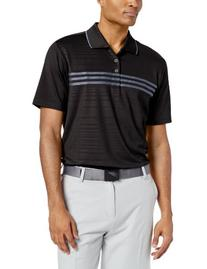 adidas Golf Men's Puremotion Climacool 3-Stripes Chest Polo