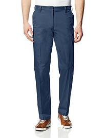 adidas Golf Men's Puremotion Flat Front Pant, Black, 33x32