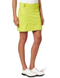 Puma Golf Women's Tech A-Line US Skirt, Blue Atoll, 10