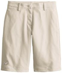 Puma Golf Boys Junior Tech Short, Oatmeal, Medium