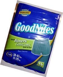 GoodNites Sleep Boxers, Boys, S-M