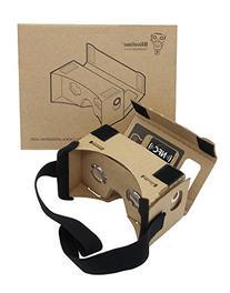 Blisstime Google Cardboard 3d Vr Virtual Reality DIY 3D