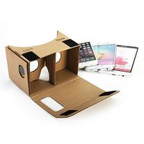 Google Cardboard DIY Kit, GMYLE Virtual Reality Viewer 3D