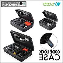 WoCase GoPro CODELOCK Case Carrying and Travel POV Case  for