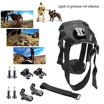 BAXIA TECHNOLOGY Dog Harness Chest Mount for GoPro HERO 5