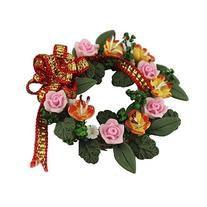 Generic Gorgeous Mini Flowers&wreath of Flower for 1/12