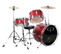 GP Percussion GP50RD Complete Junior Drum Set