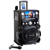 Karaoke USA GP978 Professional DVD/CDG/MP3G Player with 7&