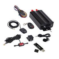 ATian GPS SMS tracker TK103B with remote control Free PC