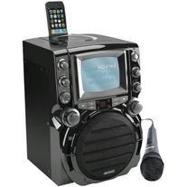 KARAOKE USA GQ752 CD+G Karaoke System with 5inin TFT Color