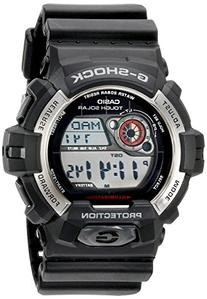 Casio Men's GR-8900-1CR Tough Solar G-Shock Digital Display