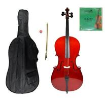 Grace 1/2 Size Cello for Beginners, Students with Bag and