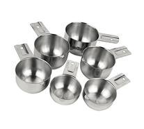 Estilo Premium Grade Stainless Steel Measuring Cups - 6