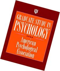 Graduate Study in Psychology 2008