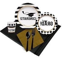 Graduation Party Supplies - Party Pack for 24