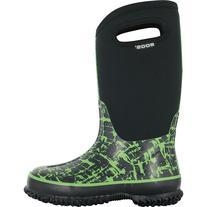Bogs Graffiti Boot - Little Boys' Black/Green, 10.0