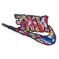 NAVA Graffiti Pop Art Extreme Sports Luggage Skateboard