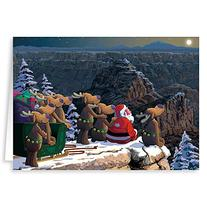 Grand Canyon Christmas Card 18 Cards & Envelopes