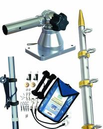 Taco Metals Grand Slam Outrigger Kit 170 Series Mounts,
