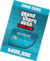 Grand Theft Auto Online: Tiger Shark Cash Card - PS3