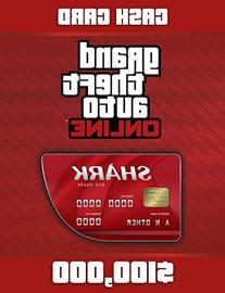 Grand Theft Auto V: G Red Shark Cash Card - PS4