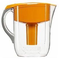 Brita Grand Water Filter Pitcher, Orange, 10 cups