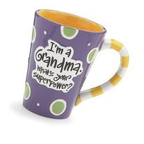 12 Oz Grandma Coffee Mug with I'm A Grandma, What's Your