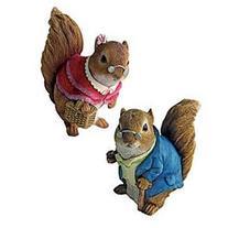 Grandparent Squirrel Statue , Statues, Animals, Resin
