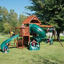 Swing-N-Slide Grandview Twist Wood Swing Set