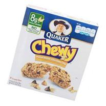 Quaker Granola Bars, Peanut Butter Chocolate Chip, 8 count