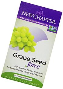 New Chapter - Grape Seed Force - 30 Vegetarian Capsules