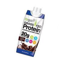 Orgain Grass Fed Protein Shake, Creamy Chocolate Fudge, 11